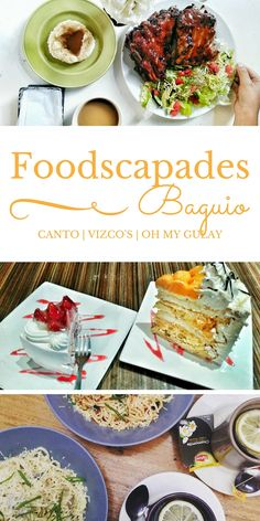 BAGUIO FOODSCAPADES | Check out these three restaurants: Canto, Vizco's, and Oh My Gulay - in the Summer Capital of the Philippines!