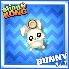 My kong (bunny 1/1) on game Sling Kong 💖 #SlingKong