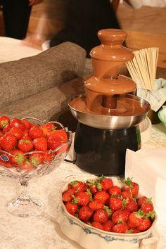 sjokoladefontene