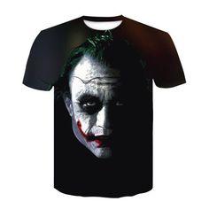 Joker, Mens Tops, T Shirt, Fashion, Supreme T Shirt, Moda, Tee Shirt, Fashion Styles, The Joker