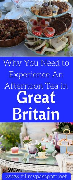If you leave the UK without having afternoon tea, you are doing it wrong! We will tell you everything you need to know about afternoon tea and some of our favorite spots in England to have afternoon tea. Come see what to expect and where you should go for afternoon tea. Don't forget to save this to your travel board so you can find it later.  #afternoontea #greatbritain #traveldrink #travelfood #teaparty