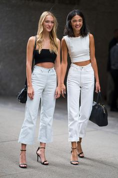 Every major model off-duty look from the 2018 Victoria's Secret casting - Street Style Outfits Models Off Duty, Off Duty Model Style, Model Look, Look Fashion, Fashion Models, Fashion Outfits, Fashion Trends, Models Style, Chic Fashion Style