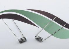 Sachet de 10 résistances pré-montées d'une valeur de 0,5 Ω, pour vos atomiseurs reconstructibles !