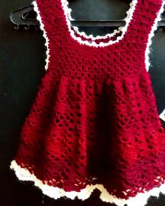 Dress Crochet  #crochetaddict #crochetlife #dress #kids #blanket #blanketcrochet #crochetblanket #red #black #crochet_pattern #crochetgeek #crochet #crochetlove #crocheting #crocheted #crochetlover #crochetlovers #handmade #hand #amazing #beautiful #happy #wonderful #me #color #colour #colors #mywork #crocheteveryday by laloo_basheer