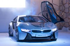 BMW i8 concept, from Mission Impossible 4 Ghost Protocol, love this car!