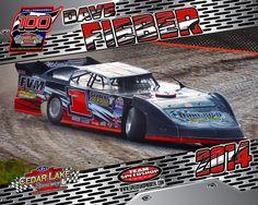 1 - Dave Fiber The Legendary 100 Late Model Racing, Cedar Lake, Dirt Track, Edm, Race Cars, Fiber, Vehicles, Drag Race Cars, Low Fiber Foods