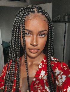Box Braids Hairstyles For Black Women, Black Girl Braids, African Braids Hairstyles, Braids For Black Hair, Girls Braids, Girl Hairstyles, Kids Braided Hairstyles, African Box Braids, African Braids Styles