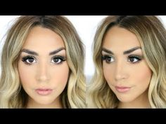 GRWM OLIVE GREEN SMOKEY EYE | TESTING OUT NEW PRODUCTS! - YouTube