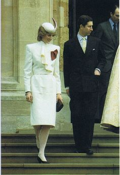 Princess Diana at St George's Chapel at Windsor, Christmas Day 1983 Photo (C) GETTY IMAGES