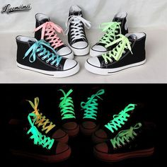 1pair 80cm sport luminous shoelace glow in the dark color fluorescent shoelace Athletic Sport shoe laces reflective shoelaces♦️ SMS - F A S H I O N  http://www.sms.hr/products/1pair-80cm-sport-luminous-shoelace-glow-in-the-dark-color-fluorescent-shoelace-athletic-sport-shoe-laces-reflective-shoelaces/ US $0.45