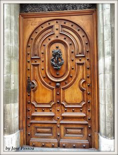 I feel I should say as password for the door to open - Geneva, Switzerland Old Doors, Windows And Doors, Entrance Doors, Art And Architecture, Architecture Details, Building Front, Balcony Doors, When One Door Closes, Knobs And Knockers