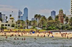 Visit St Kilda Beach - Things to do in Melbourne, Australia: http://www.ytravelblog.com/what-to-do-in-melbourne-australia/