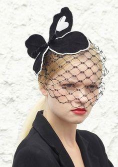 Benoit Missolin SS14 Collection (Paris) Paris Wedding, Royal Ascot, Fascinators, Punk Fashion, Veils, Headdress, Victorian, Hats, Beauty