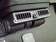 Breezeasy blower system, 24-volt. Mounts under dash or on the top. Puts out an incredible 310 cubic feet per minute, with maximum amp draw of 7.9 amps/12-volts. Has a 3 speed switch and automotive quality louvered vents. Comes with mounting hardware.