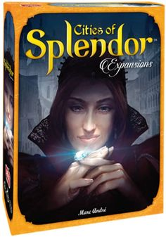 Amazon.com: Splendor: Cities of Splendor Expansion: Toys & Games Expansion, Space Cowboys, Games To Buy, Well Thought Out, The Expanse, Board Games, City, Movie Posters, Amazon