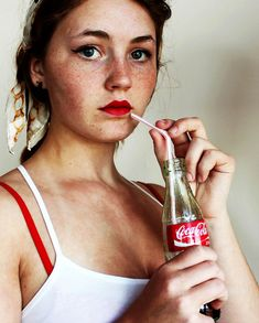 Coca-cola girl by minettemurphy, via Flickr