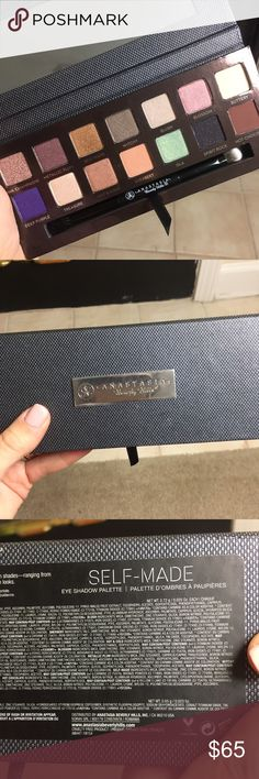 Anastasia Self Made Palette Brand New, Authentic, Limited edition and discontinued! Protective coverings still on. Never touched. Selling for $100 + on eBay Anastasia Beverly Hills Makeup Eyeshadow