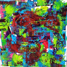 """ Ixtapa "" Céline Weber 80X80 Celine, Tumblr, Colours, Paintings, Artists, Paint, Painting Art, Artist, Painting"