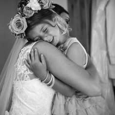 Adorable flower girl moment. Photo by Blush Photography. www.wedsociety.com #flowergirl