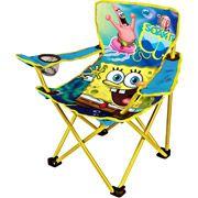 Nickelodeon Spongebob Camp Chairs Squarepants Camps Folding Chair Baby Boy Future Walmart Backyard