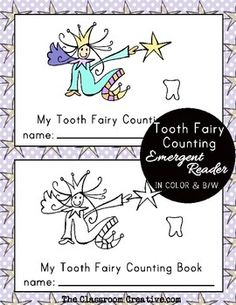 How many teeth do you have tooth fairy? Perfect for Dental Health Month!