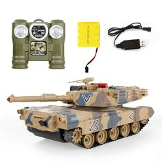 RC Tanks infrared Remote Control with turret Tank model Battle Toy