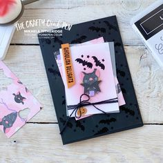 Night Out, Crafty, Cute Halloween, Halloween Cards, Stampin Up, Cards For Friends, Inspire Others, Free Gifts, December