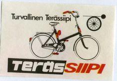 #Tulitikut #Terässiipi #Turvallinen terässiipi Bicycle, Vehicles, Bike, Bicycle Kick, Bicycles, Car, Vehicle, Tools