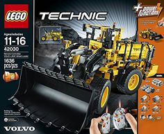 LEGO Technic 42030 Remote Controlled VOLVO L350F Wheel Load  http://www.bestdealstoys.com/lego-technic-42030-remote-controlled-volvo-l350f-wheel-load-2/