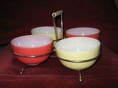 VINTAGE PYREX HOSTESS SET by daisyladybird, via Flickr