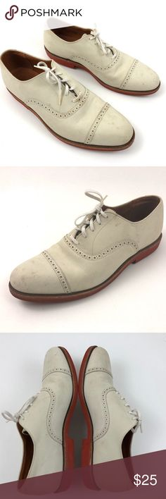 Brooks Brother Nubuck Leather Men Oxford Shoes Brooks Brothers  Size 11.5 D  Pre Owned Shoes  in Good Condition, Has Some Stains/Scuffs- All Shown in Photos  Original Box Dust Bag is Not Included Brooks Brothers Shoes Oxfords & Derbys