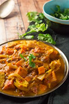 Easy Sweet Potato & Chicken Curry