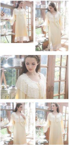 Medieval Vintage Cotton Nightgown