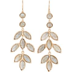 Irene Neuwirth Gemstone Chandelier Earrings ($4,025) ❤ liked on Polyvore featuring jewelry, earrings, brincos, accessories, colorless, gemstone jewelry, clear earrings, gemstone earrings, polish jewelry y chandelier earrings