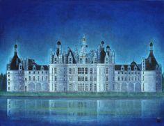 ダビンチの城  /  65.2 × 50.0cm (制作年:2001)