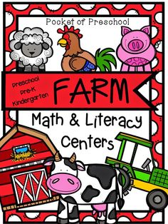 We just finished up our farm unit last week.  The kids loved it and the parents couldn't stop talking about it too.  Whhooo!  It...