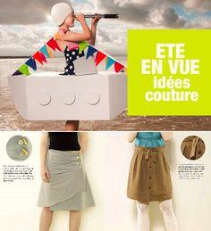 Couture : patrons gratuits, jupe asymétrique de Stitch etc...