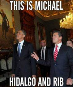O cuando le contó a Obama sobre la Independencia de México. | 23 Personas que hablan tan mal inglés que acabaron ganando