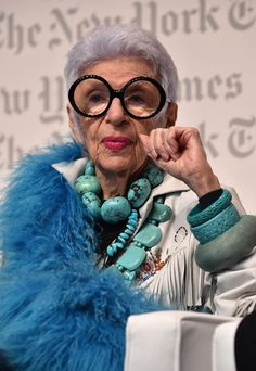 Iris Apfel Quotes About Personal Style & Finding Yourself Through It
