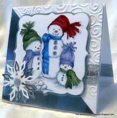 Snow Family by ellentaylor - Cards and Paper Crafts at Splitcoaststampers