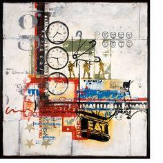 Insomnia- Ray Phillips Insomnia Help, Art For Art Sake, Artsy Fartsy, Collage Art, Photo Art, Contemporary Art, Wax, Mixed Media, Cold