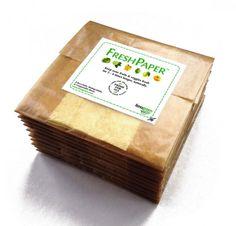 FreshPaper - packaging for keeping vegetables and fruit fresh