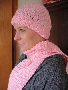 Ravelry: Soft Seed Stitch Hat & Scarf pattern by Kathy North