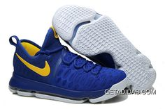 """sports shoes a1355 f5ee8 Find KD 9 """"Golden State Warriors"""" Blue Yellow White 2016 For Sale online or  in Pumarihanna. Shop Top Brands and the latest styles KD 9 """"Golden State ..."""