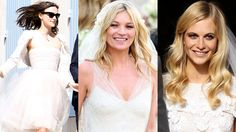 The secret to looking like a cool London girl? Never overthink your hair—even on your wedding day. Meaning: Wear it down, like Keira Knightley, Kate Moss and Poppy Delevingne did.