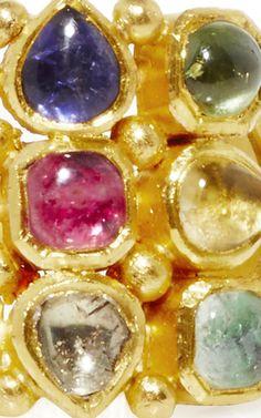 Raj Ring by Sanjay Kasliwal Jaipur, Gemstone Jewelry, Collections, India, Jewellery, Jewels, Bridal, Gemstones, Rings