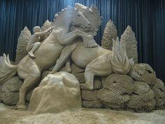35 Incredible Sand Sculptures! - Artists Inspire Artists
