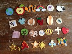 Jesse Tree ideas (for the tree, ornaments, and devotions!)