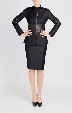 Updated Mugler Jacket - number 35. Seen on Julianna Margulies on The Good Wife. Also seen on me, in my dreams.