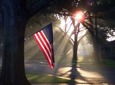 """Morning Glory"" ~ Patriotic Sunrise"